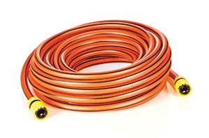 coiled garden hose and protect pipes from freezing