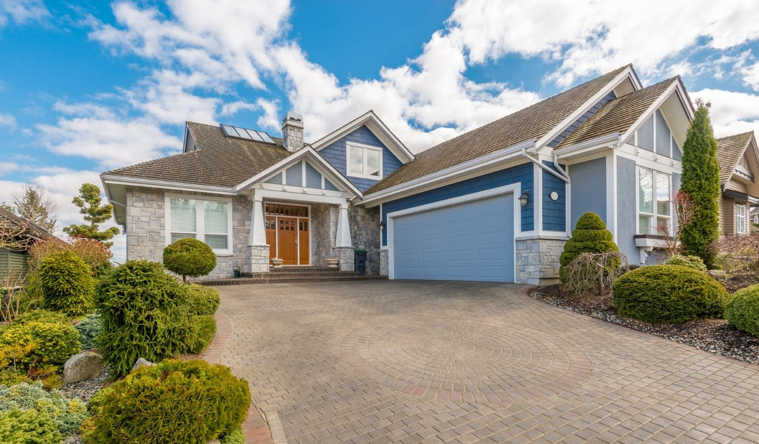 A home within a potential home buyer's budget, as having a budget is one of the top tips for buying a home in this, or any, market